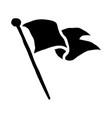Flag waving icon