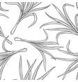 lemongrass seamless pattern vector image