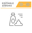 ointment editable stroke line icon vector image vector image