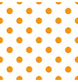 orange pattern seamless vector image vector image