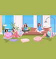 pregnant women and mothers with children vector image