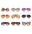 Sunglasses Realistic Set vector image