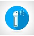 Tear pepper spray flat icon vector image