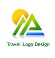 TravelDesign vector image vector image