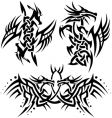 Tattoos dragons vector | Price: 1 Credit (USD $1)