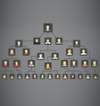 Abstract family tree vector image vector image