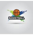 Ball symbol BasketBall Logo Badge Sport emblem