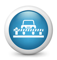 Carpark Glossy Icon vector image vector image