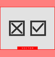 check mark icon symbol design element vector image vector image