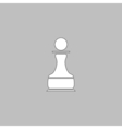 Chess Pawn computer symbol vector image vector image
