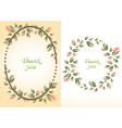 flower for greeting card vector image
