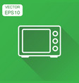 microwave icon business concept microwave oven vector image vector image