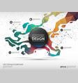 concept background with poligonal geometric shapes vector image vector image