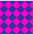 Cosmos Purple Blue Pink Chess Board Diamond vector image