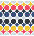 pop art seamless colorful pattern - repeatable vector image vector image