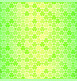 seamless pattern with green clovers vector image