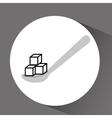sugar product design vector image vector image