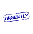 Urgently rubber stamp vector image vector image