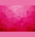 abstract love pink background vector image
