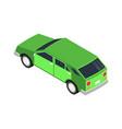 isometric car icon vector image