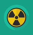 Medical Flat Icon Radiation symbol vector image