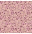 Seamless pink engraving pattern vector image