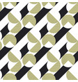 stripes and circles seamless pattern vector image vector image