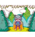 superhero animal cartoon