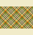 yellow abstract check pixel plaid seamless pattern vector image vector image