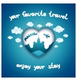 Your favorite travel vector image