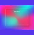 abstract of gradient colorful background vector image