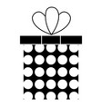 gift box isolated icon vector image