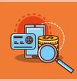 money saving concept vector image vector image