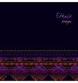 Tribal ornamental design vector image vector image