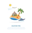 Vacation Concept vector image vector image