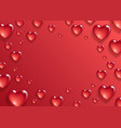 valentine s day background vector image vector image