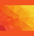 abstract orange summer background vector image vector image