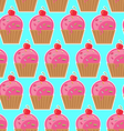 Cool seamless pattern sweets vector image vector image