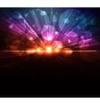 digital burst vector image vector image
