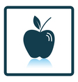 Icon of Apple vector image vector image