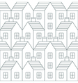 Realty pattern and backdrop vector image vector image