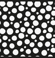 seamless two-tone pattern with white large and vector image vector image