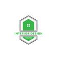 vintage house of dog logo design vector image vector image
