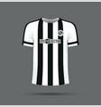 black and white tshirt vector image