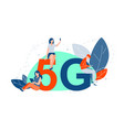 5g network mobile technologies communication vector image vector image