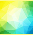 blue yellow green background vector image vector image