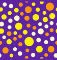 bright circle pattern seamless vector image vector image