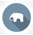 Elephant icon vector image