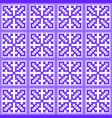 hmong pattern seamless purple design vector image vector image
