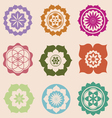 Life seed mandalas designs vector | Price: 1 Credit (USD $1)
